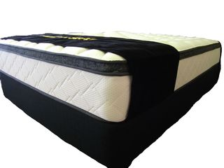 BONSLEEP Pillow Top Queen Mattress + Base