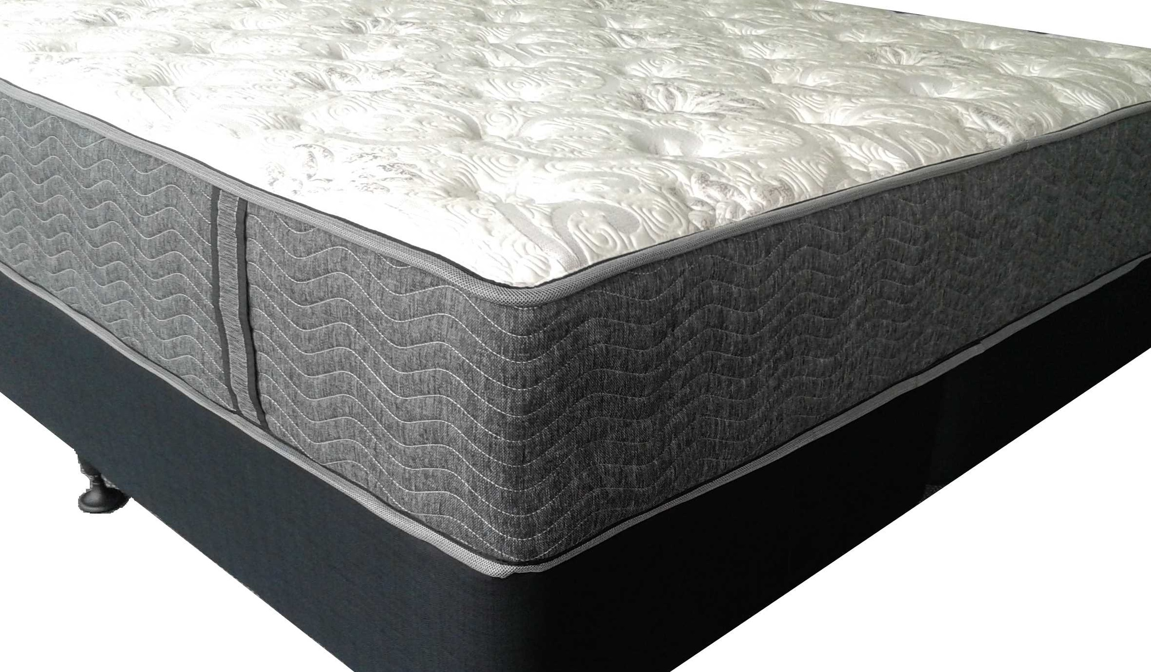 LINCOLN FIRM Queen Mattress + Base